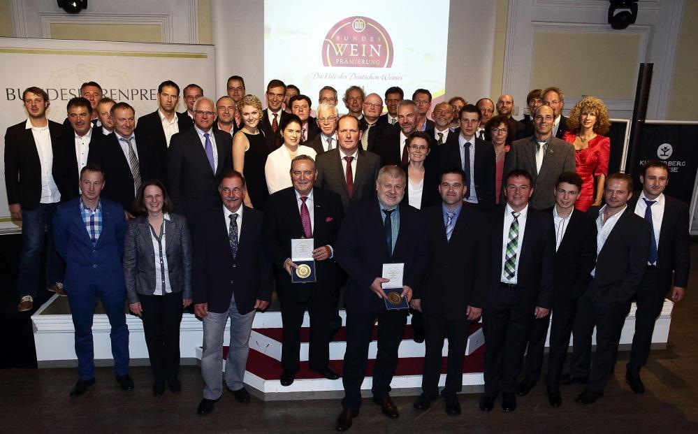 #DLG-#Bundesweinprämierung 2014 -TOP 100 der besten Weinerzeuger Deutschlands TOP 10 der besten Sekterzeuger Deutschlands
