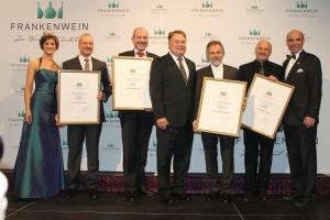 #Bayerischen #Staatsehrenpreis 2014 Weingueter Braun, Juliusspital WÜ, Fröhlich u  Horst Sauer