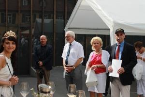 Weinbaubereisung des Regierungspräsidenten Dr. Paul Beinhofer mit Landrätin Tamara Bischof, FWK FWB