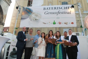 4. Bayerische Genussfestival Eröffnung