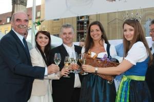 4. Bayerische Genussfestival Eröffnung Königliche Hoheiten