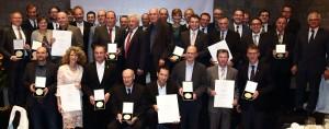 Gruppenfoto Bundesehrenpreis Wein DLG 2015