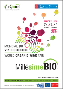 23. MILLÉSIME BIO 2016 INTERNATIONALE BIO-WEIN MESSE